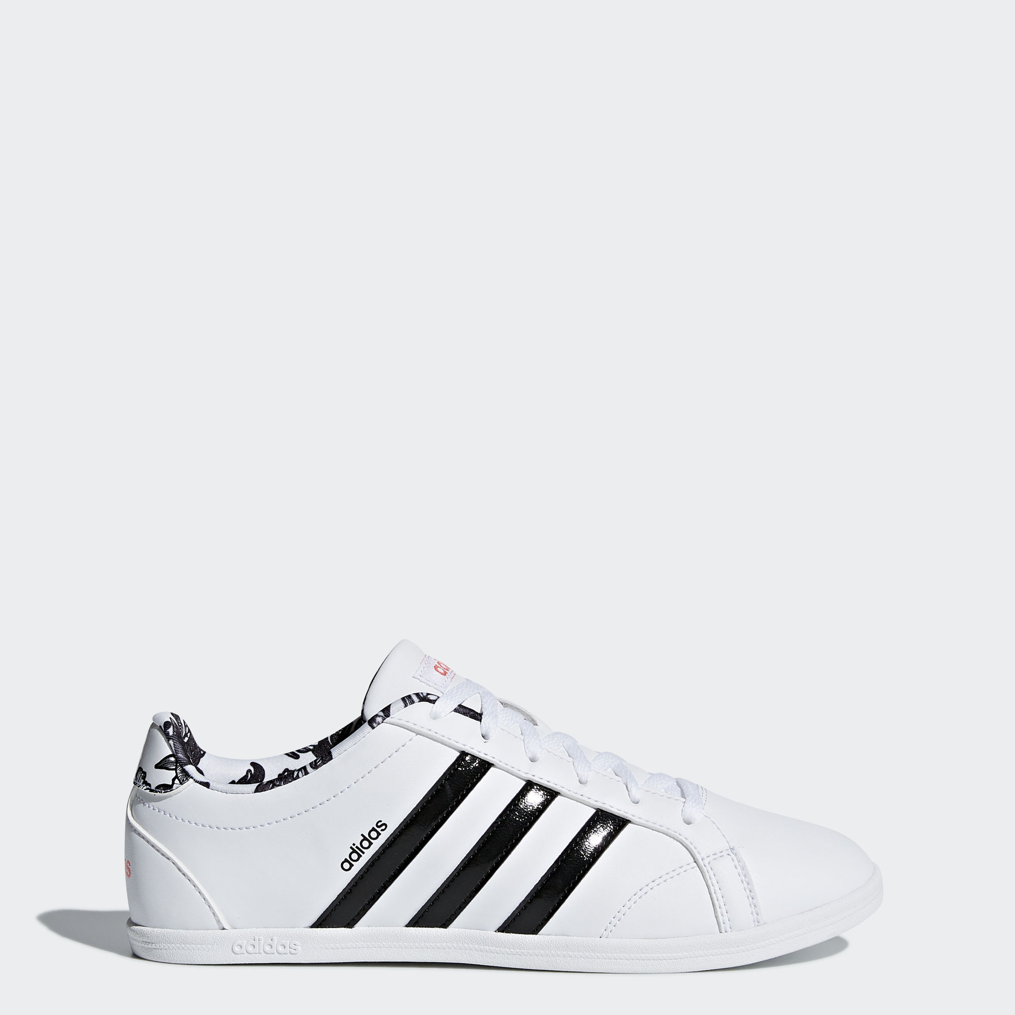 adidas neo noir et blanc femme