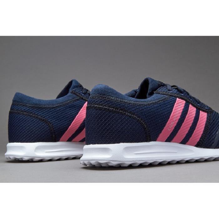 basket adidas bleu et rose